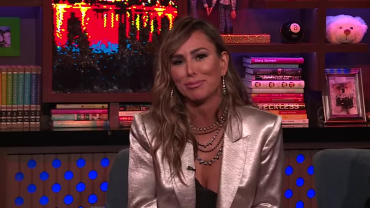 Kelly Dodd on WWHL.