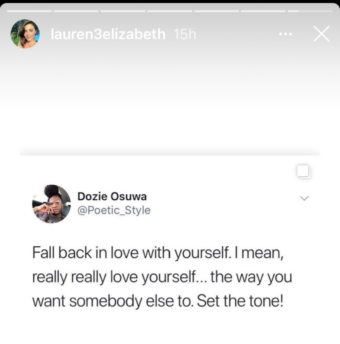Lauren Comeau seemingly throws shade at Javi Marroquin on his birthday