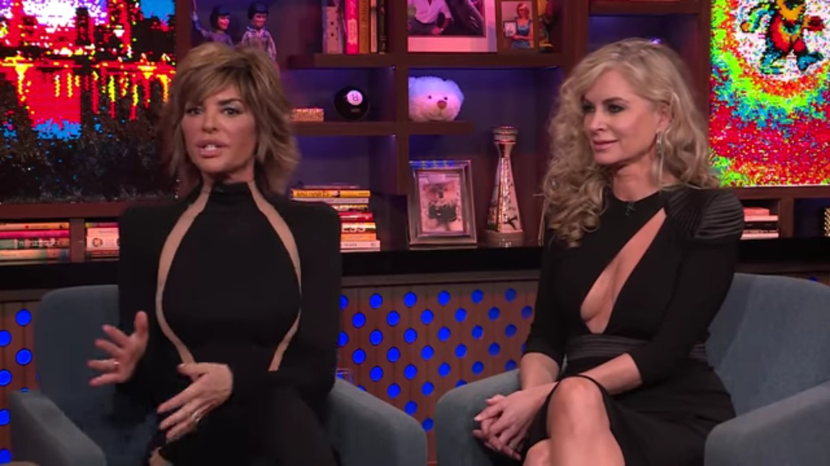 Lisa and Eileen on WWHL.