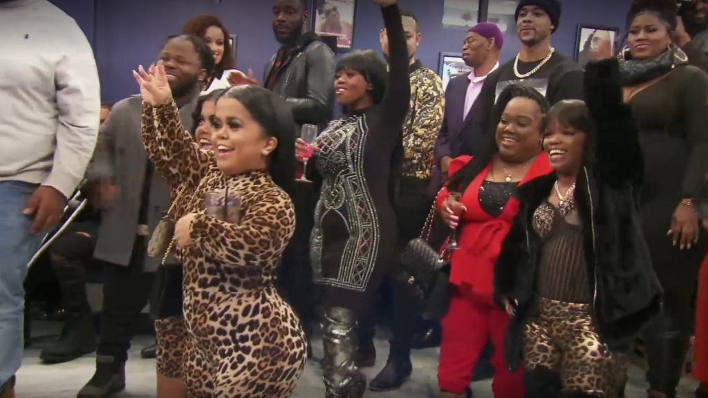 The Tiny Twins, Monie, Minnie and the rest of the Little Women Atlanta cast