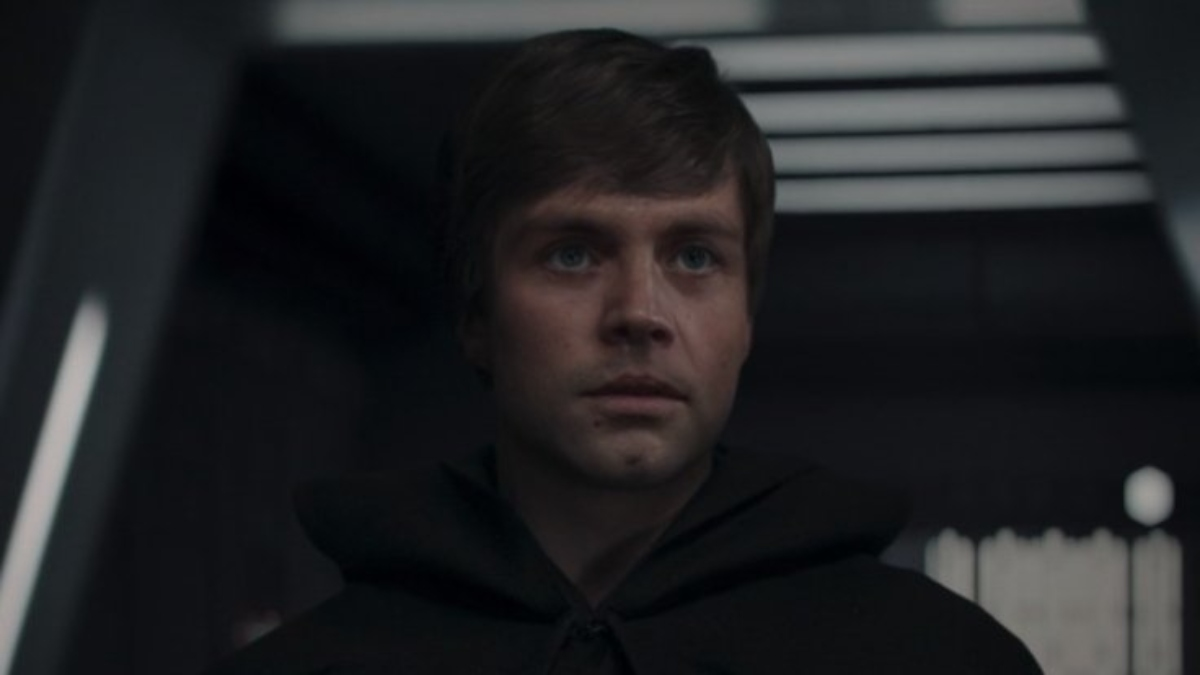Luke Skywalker from The Mandalorian.