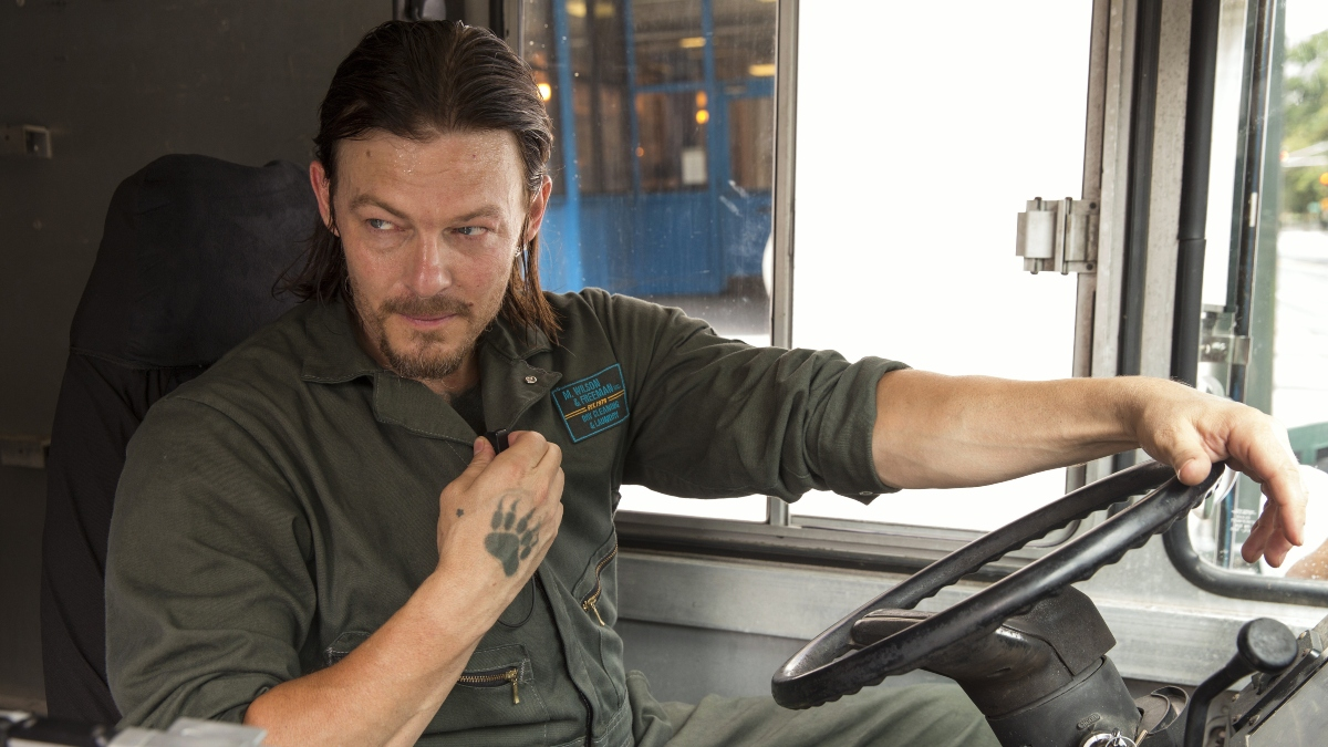 Norman Reedus from the movie Triple 9.