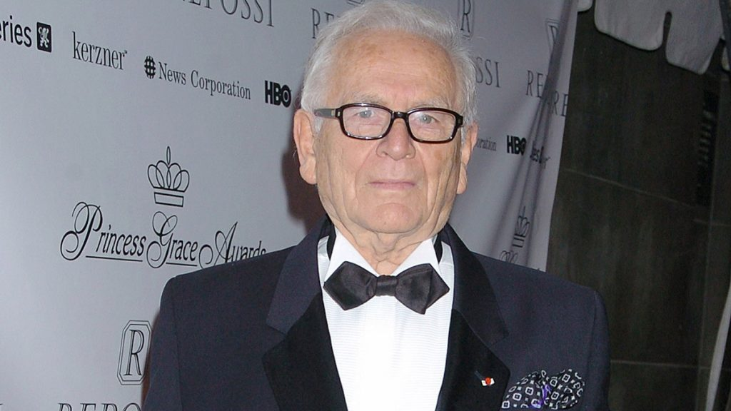 Fashion designer Pierre Cardin