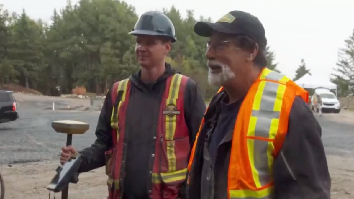 Rick Lagina and Steve Guptill on Oak Island