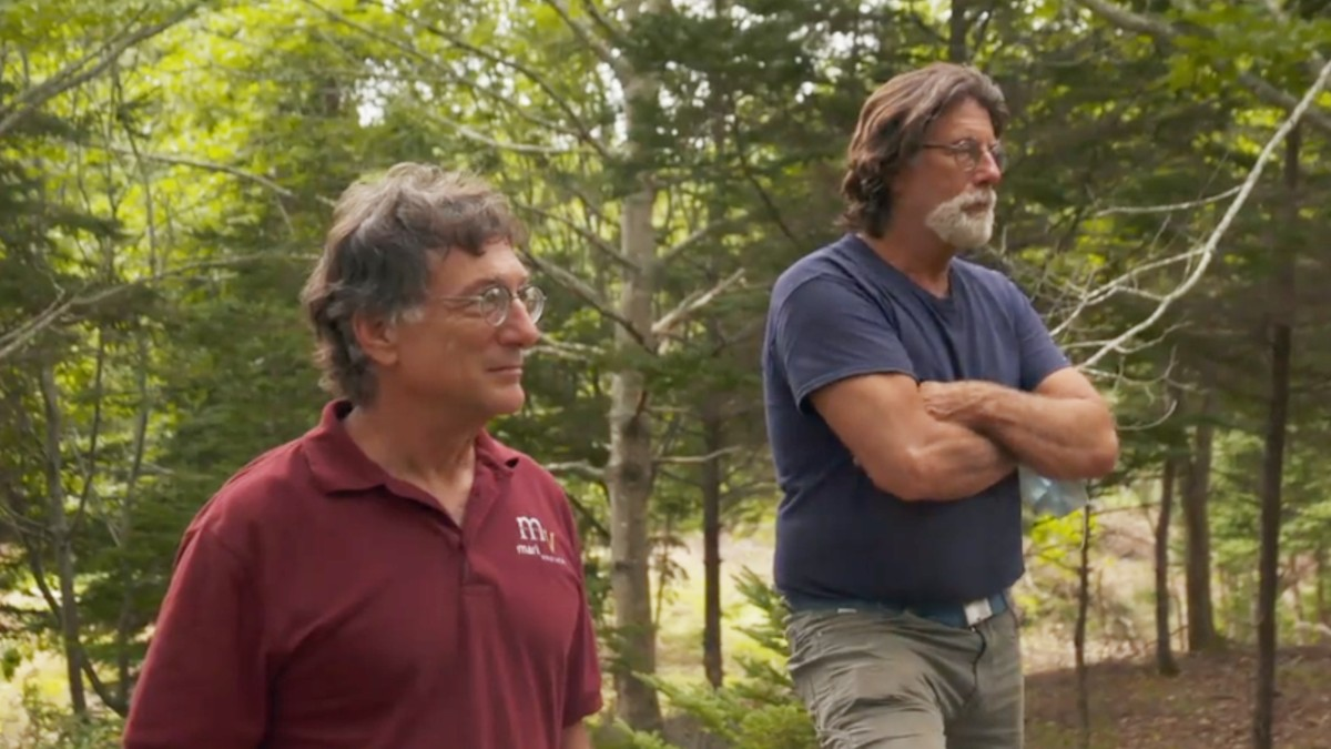 Rick and Marty Lagina on Oak Island