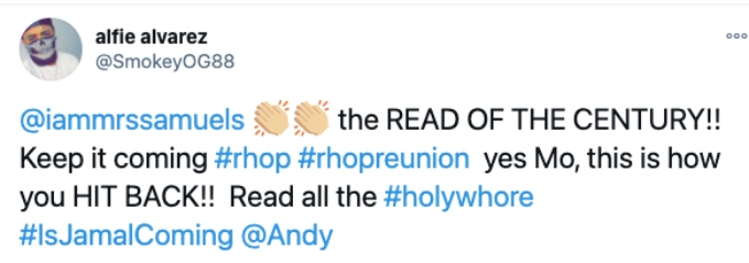 Fans reacts to RHOP reunion
