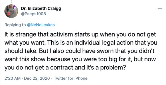 Twitter fan blast Nene Leakes for her petition