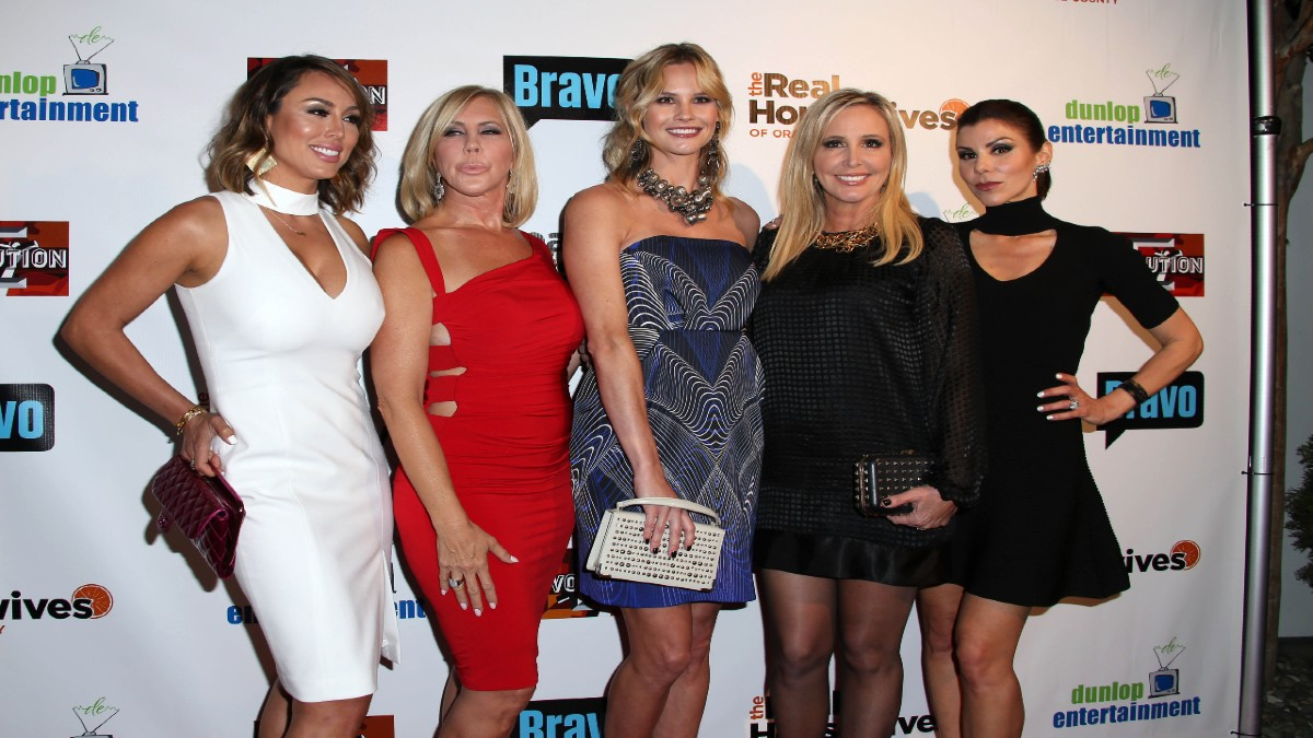 Shannon and the girls from RHOC