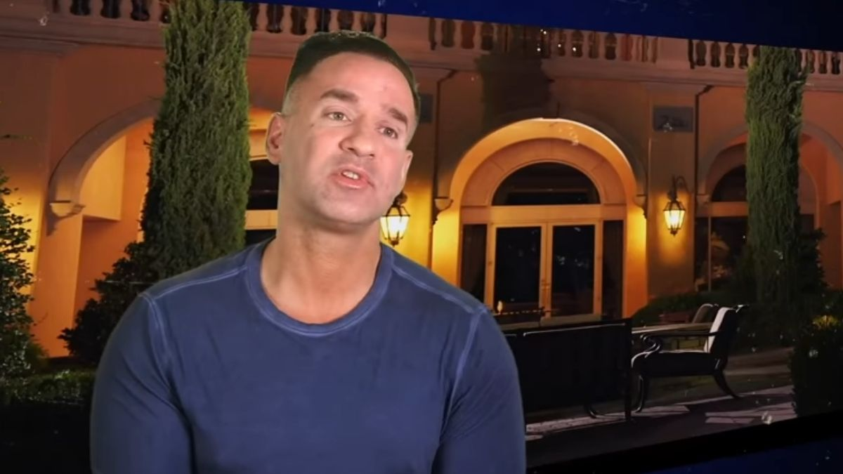 "Mike ""The Situation"" Sorrentino during an episode of Jersey Shore Family Vacation"