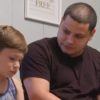 Jo Rivera with his son Isaac during an episode of Teen Mom 2