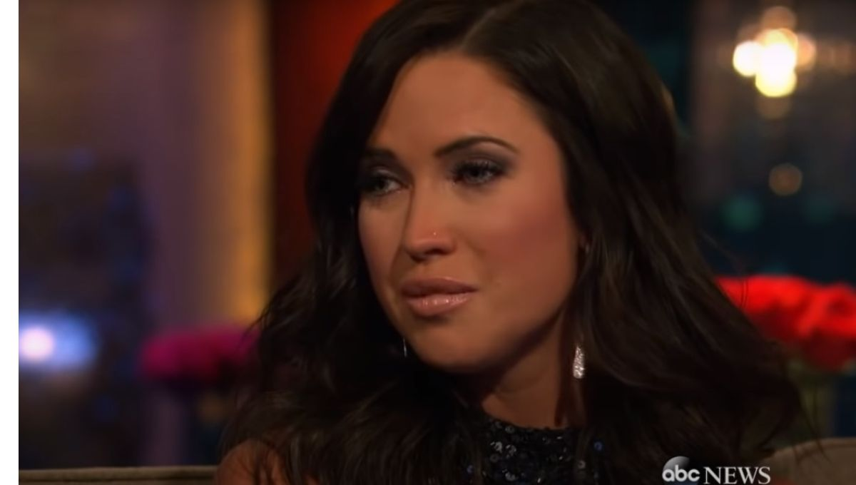 Kaitlyn Bristowe crying during The Men Tell All