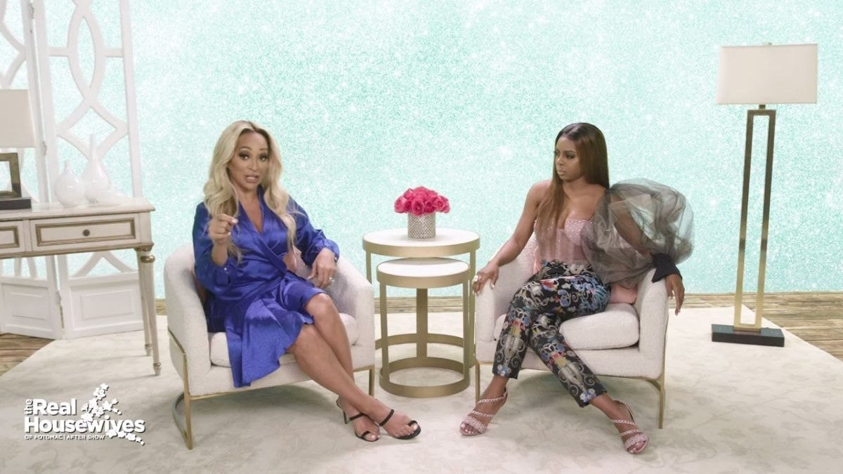 Candiace Dillard was not looking forward to seeing Karen Huger at the reunion