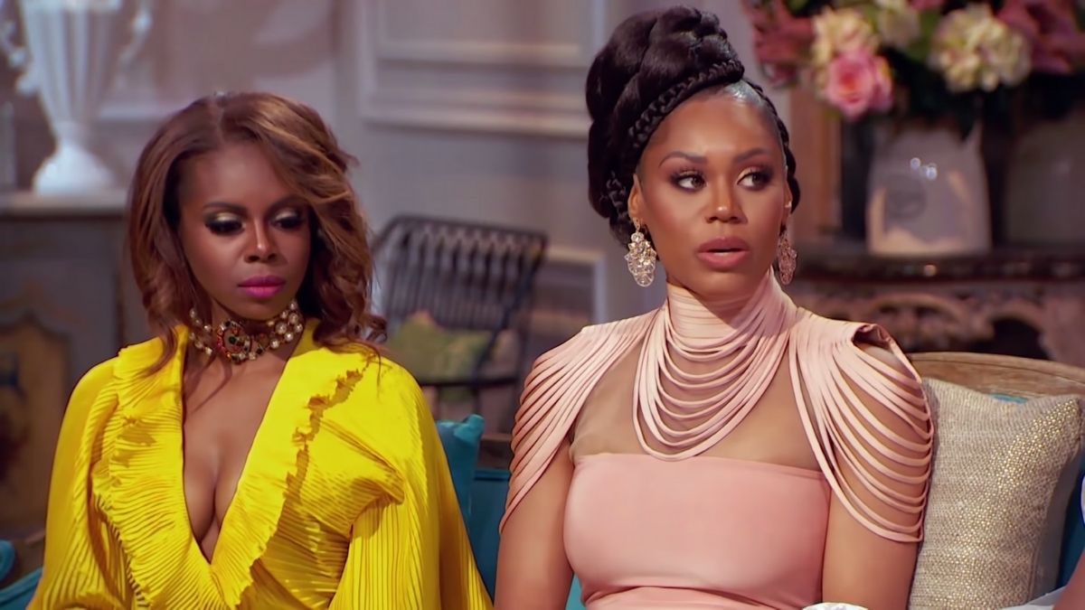 Monique Samuels came to the RHOP reunion armed with receipts