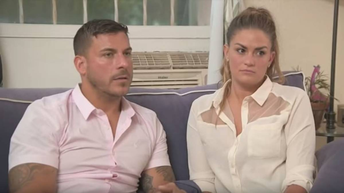 Jax Taylor and Brittany Cartwright film for Vanderpump Rules.
