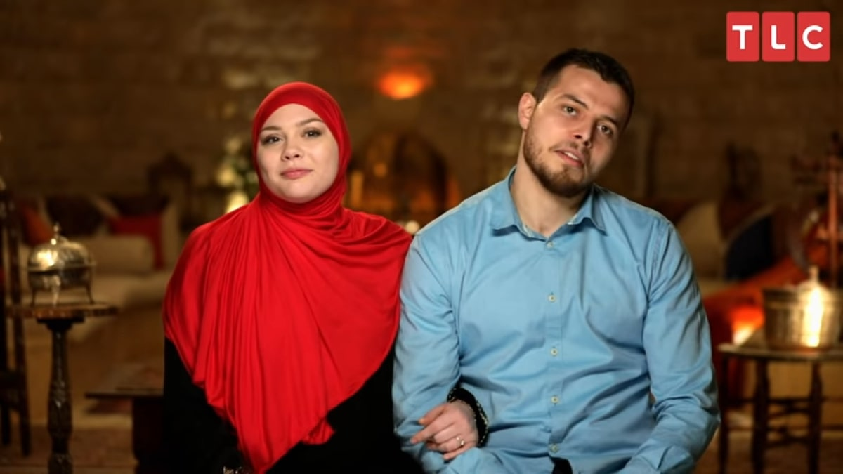 90 Day Fiance couple Omar and Avery