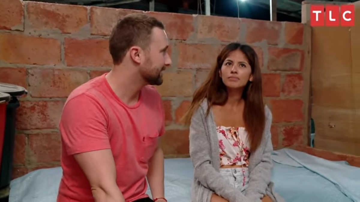 90 Day Fiance couple Evelin and Corey