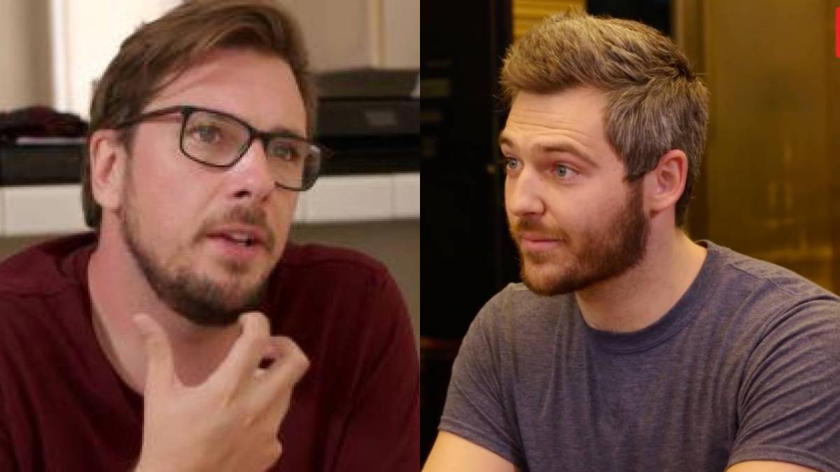 Eric Nichols and Colt Johnson film separately for 90 Day Fiance.