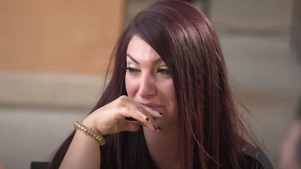 jersey shore guys make deena cry on jersey shore family vacation