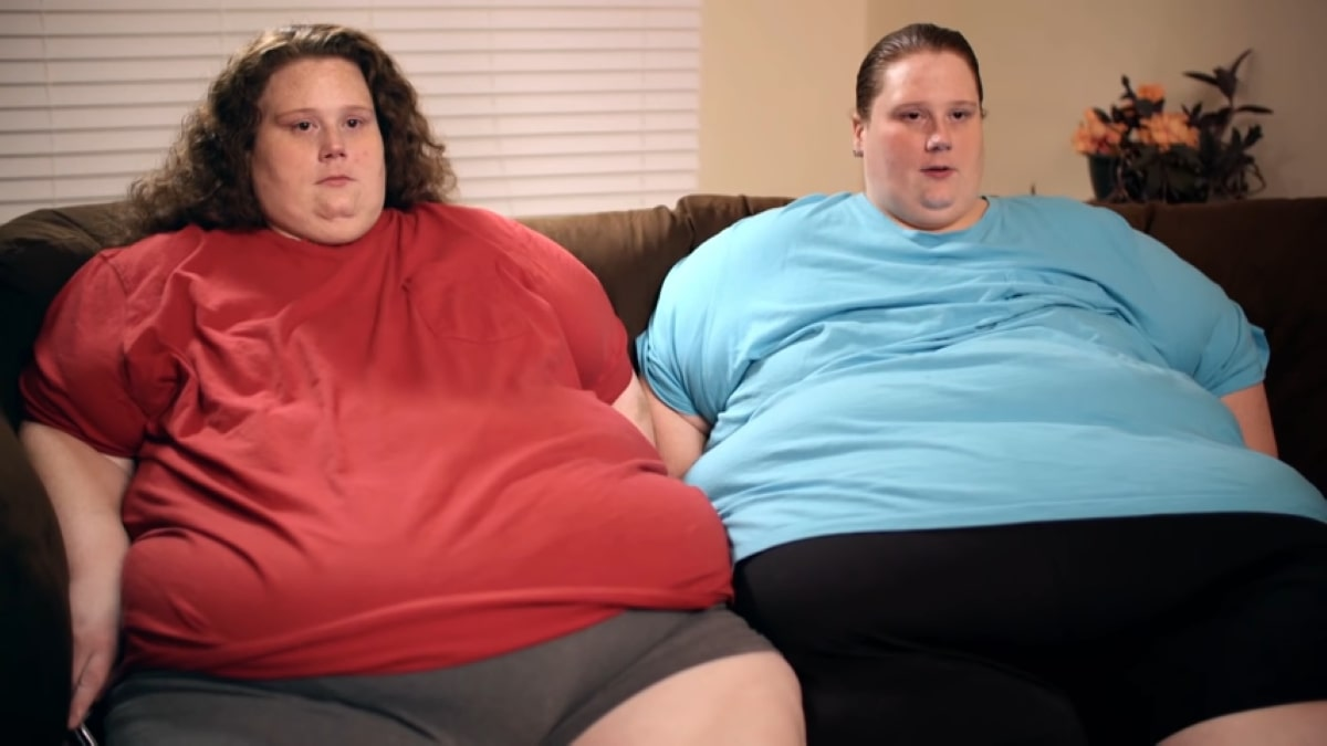 Twin sisters Kandi and Brandi Dreier from My 600lb Life