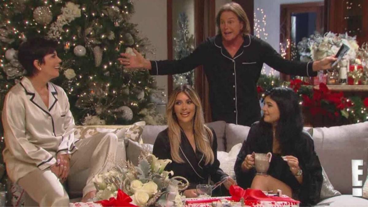 The Kardashians Christmas episode.