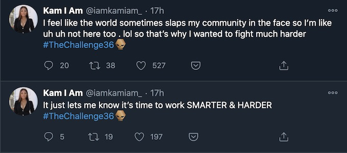 killa kam tweets about double agents