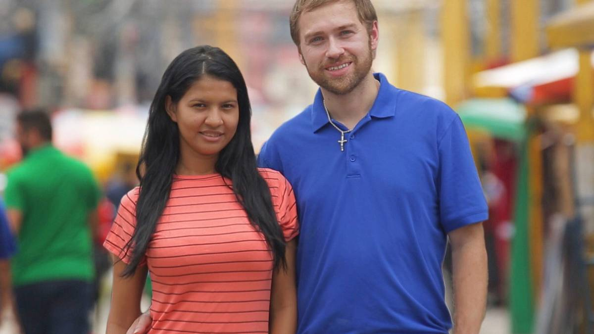 Paul Staehle and Karine Martins film for 90 Day Fiance.