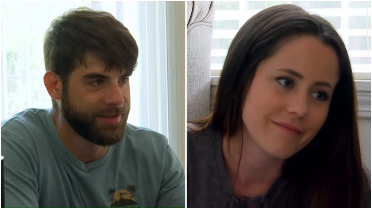 David Eason and Jenelle Evans during an episode of Teen Mom 2
