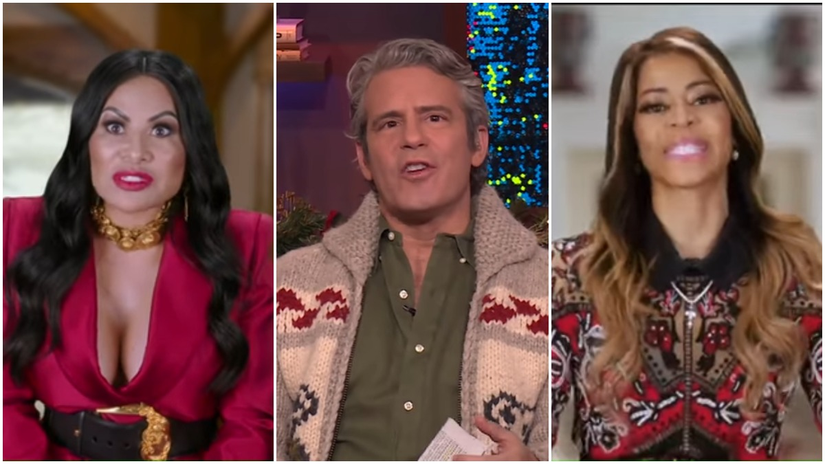 Andy Cohen stirred the pot between Jen Shah and Mary Cosby on WWHL