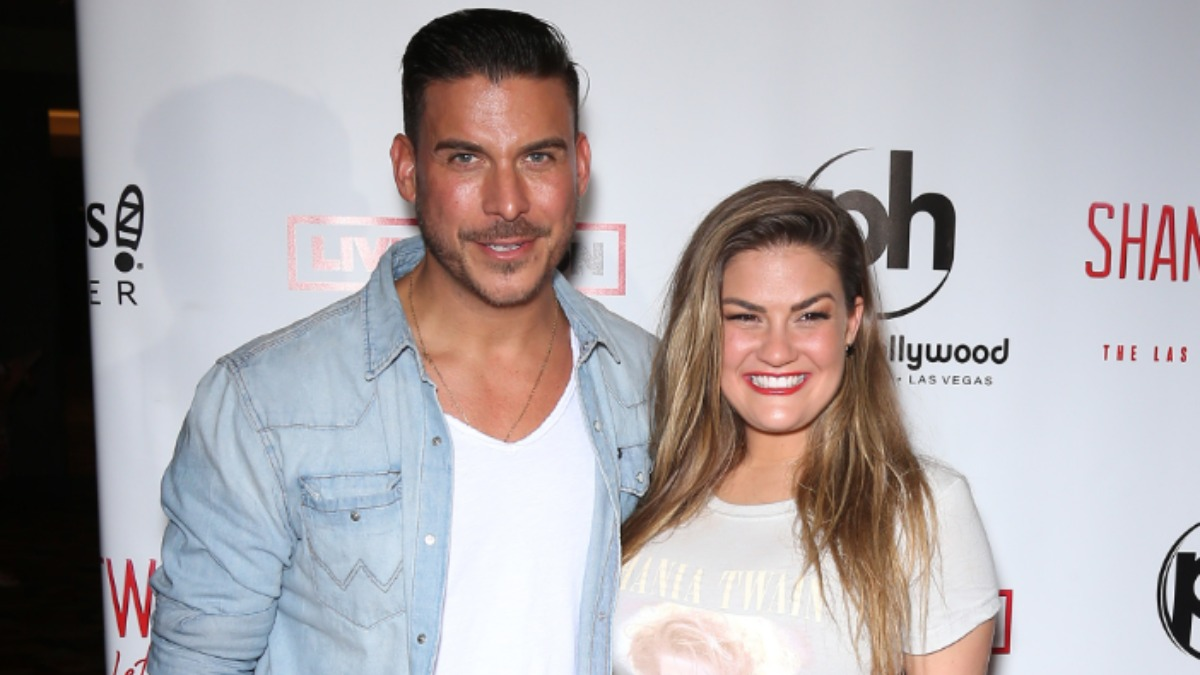 Brittany Cartwright and Jax Taylor at an event.