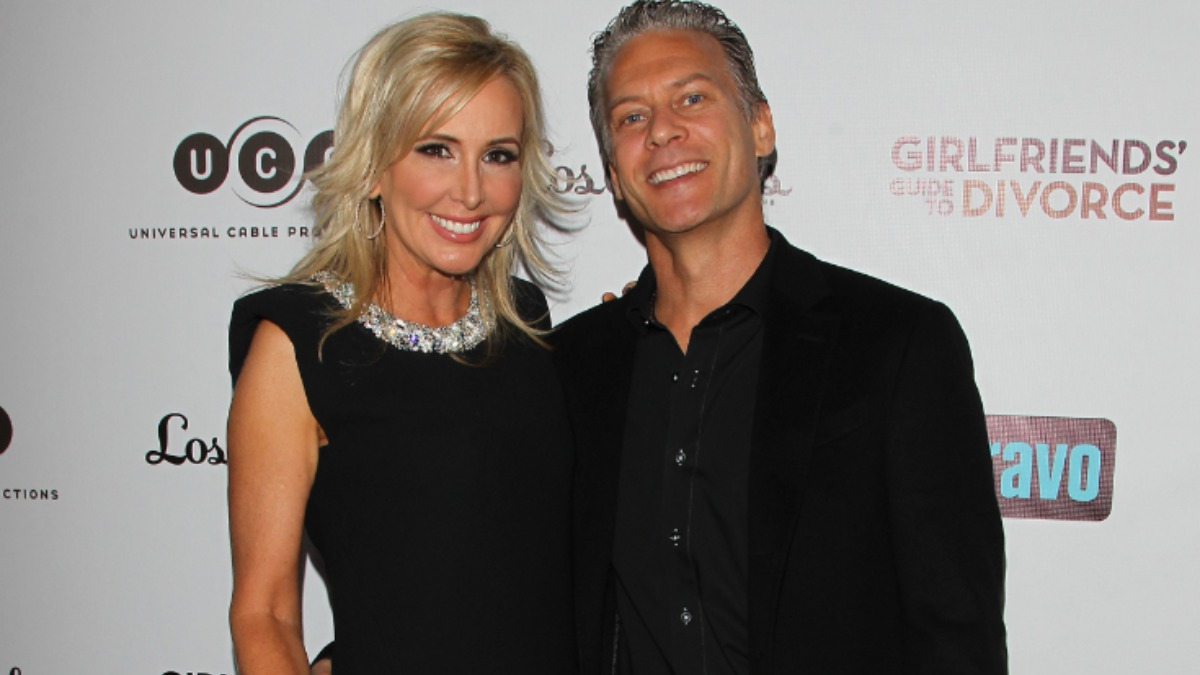 Shannon and David Beador at an event.