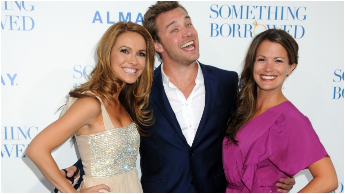 Chrishell Stause, Billy Miller, and Melissa Claire Egan.