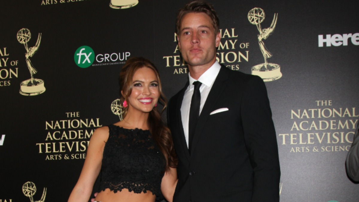 Chrishell Stause and Justin Hartley.