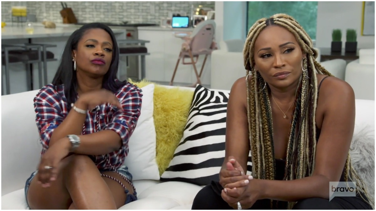 Kandi Buress and Cynthia Bailey advise Kenya Moore to divorce Marc Daly on The Real Housewives of Atlanta season 13 premiere.