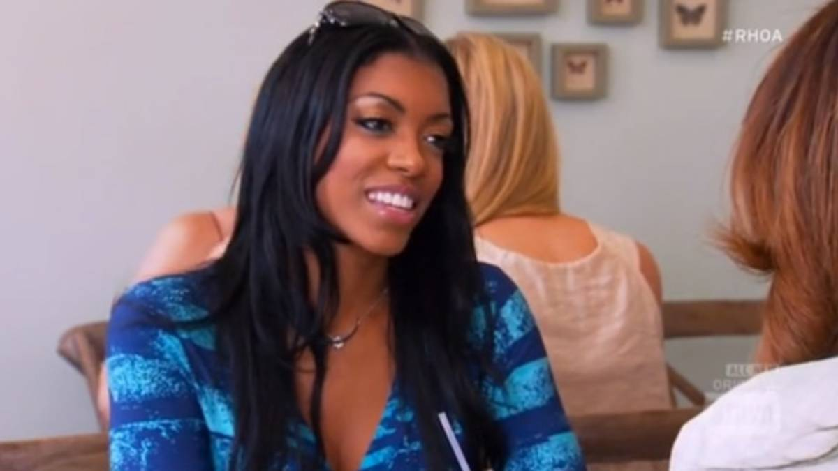 Porsha William's first episode on Real Housewives of Atlanta.