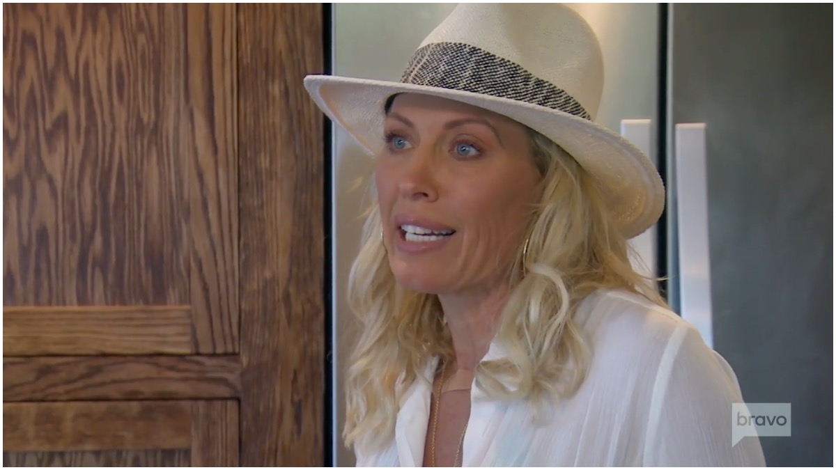 Burke explains herself on The Real Housewives of Orange County.