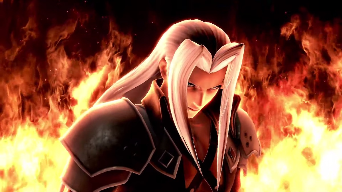 sephiroth release date super smash bros ultimate next week