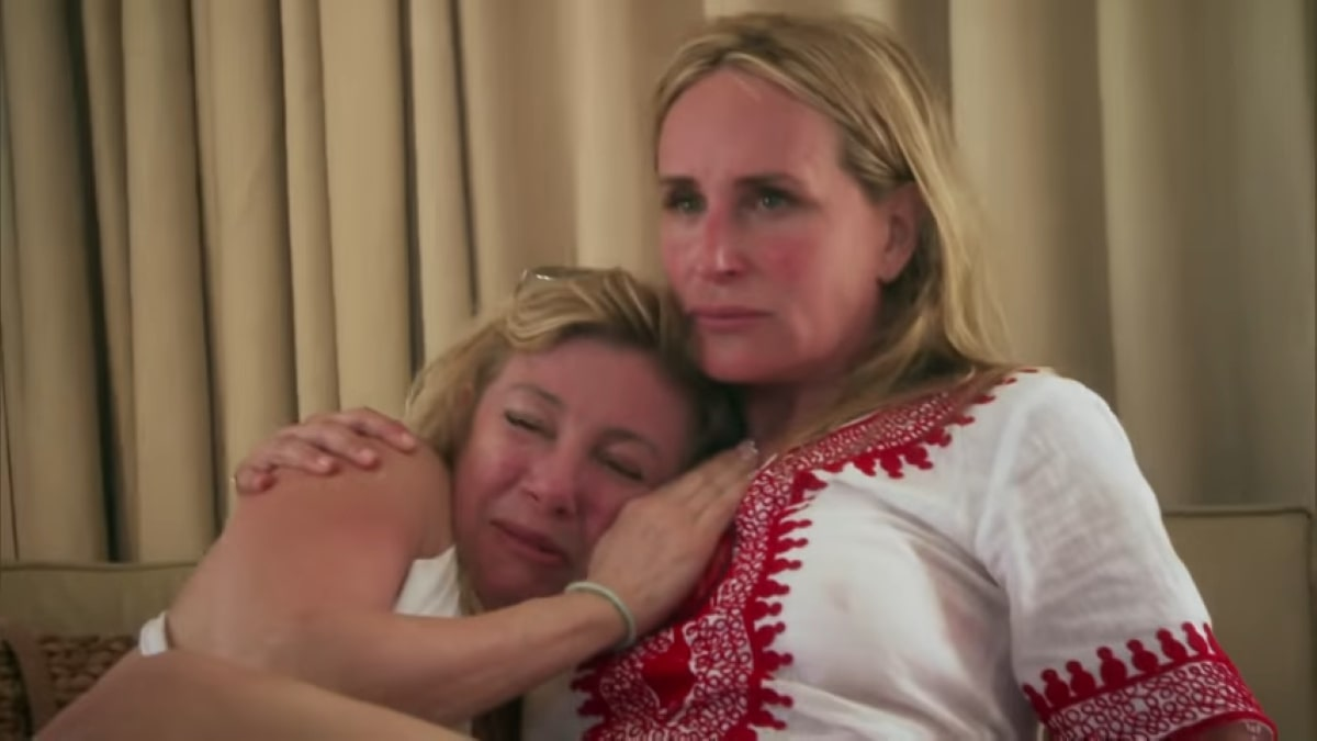 RHONY start Sonja Morgan and Ramona Singer when they thought their boat was going to sink on vacation.
