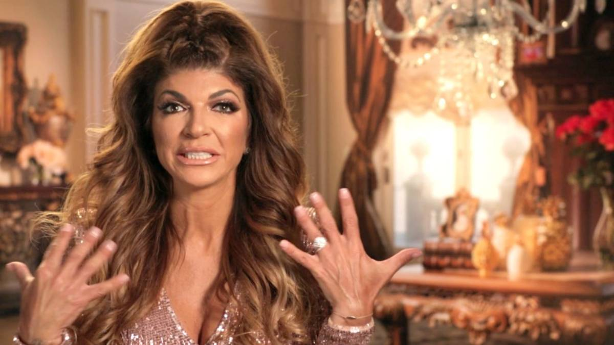 Teresa Giudice speaks in a confessional interview for RHONJ.