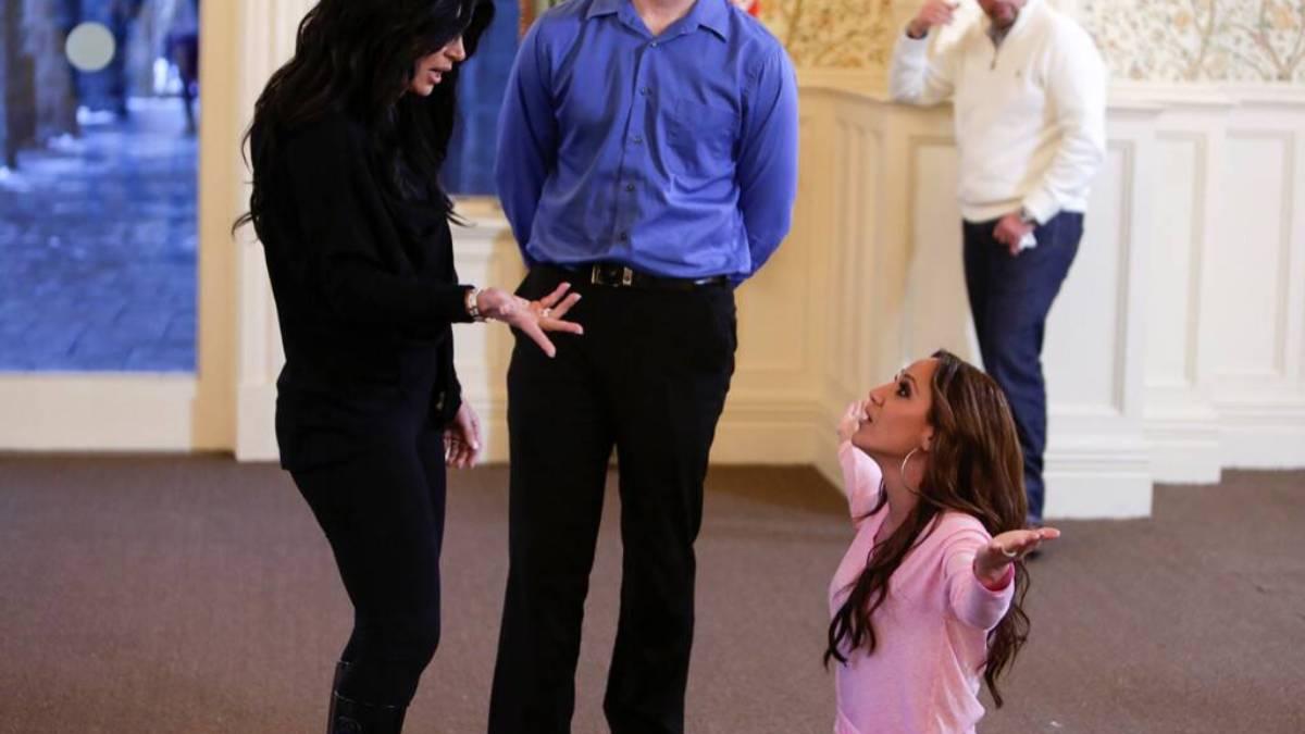 Melissa Gorga begs Teresa Giudice to stop feuding with her and her brother Joe Gorga.