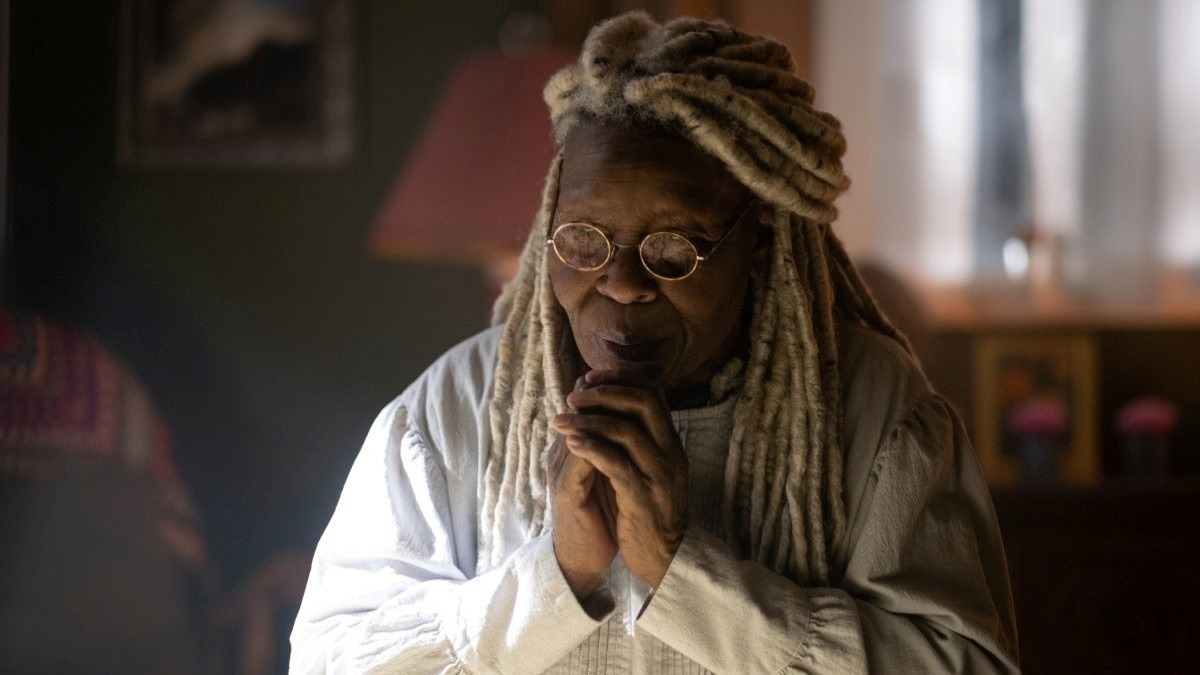 Whoopi Goldberg as Mother Abigail in The Stand