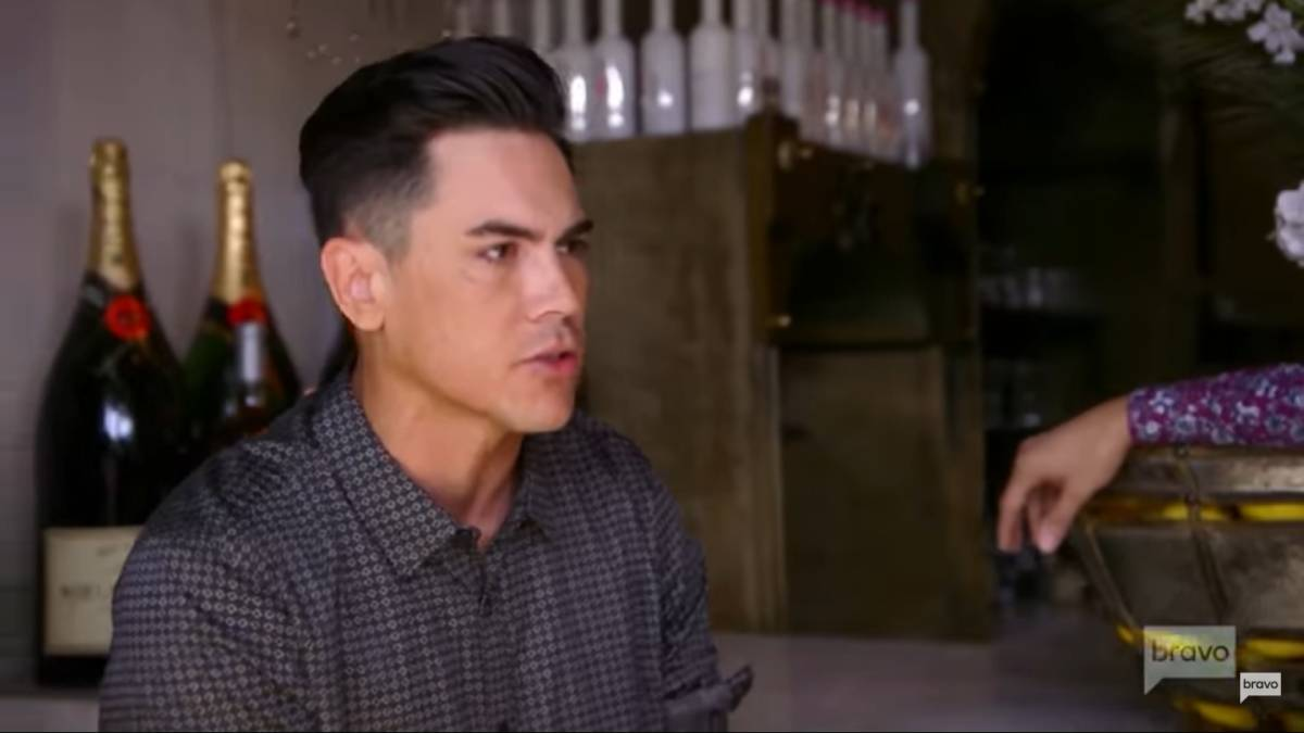 Tom Sandoval films for Vanderpump Rules Season 8.