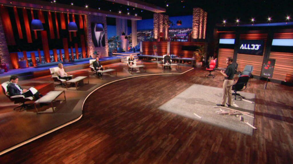 What is the All 33 Backstrong Chair featured on Shark Tank?