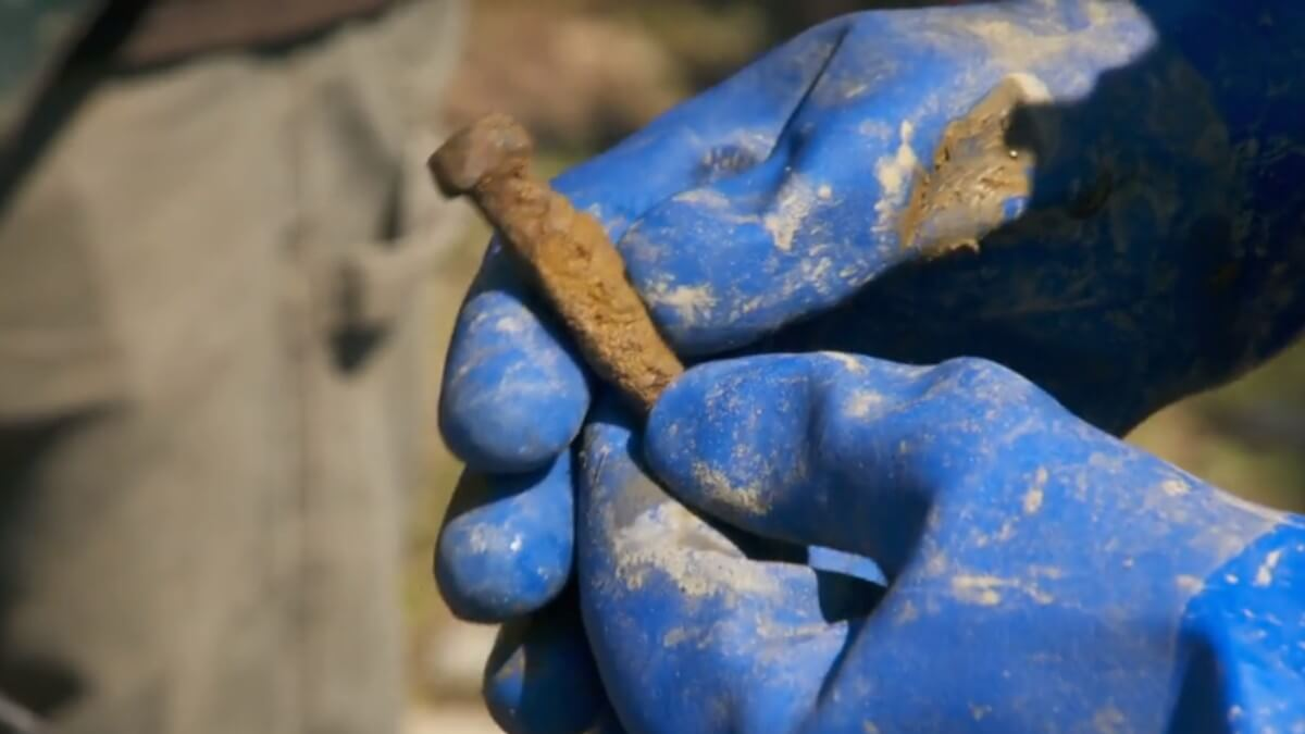 Artifact found on Oak Island