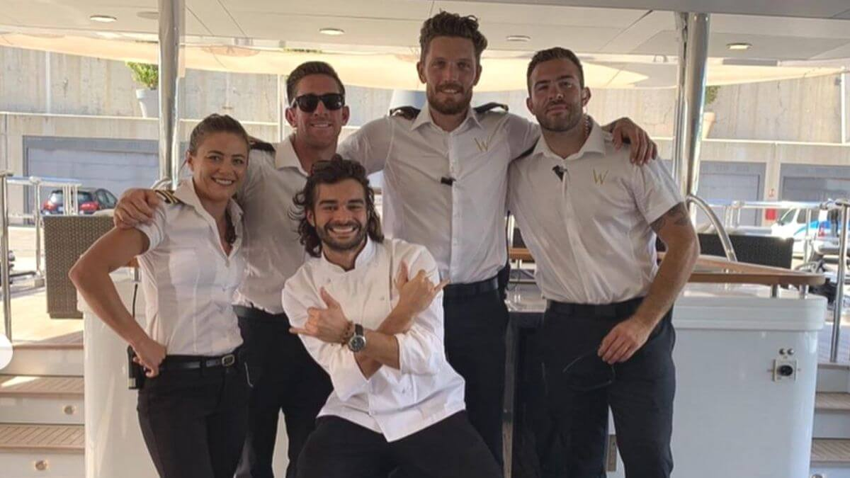 Alex Radcliffe admits Below Deck Med Season 5 crew hates each other.