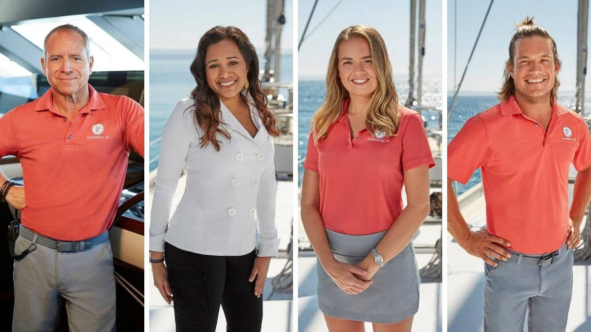 Here's the new Below Deck Sailing Yacht Season 2 crew members.