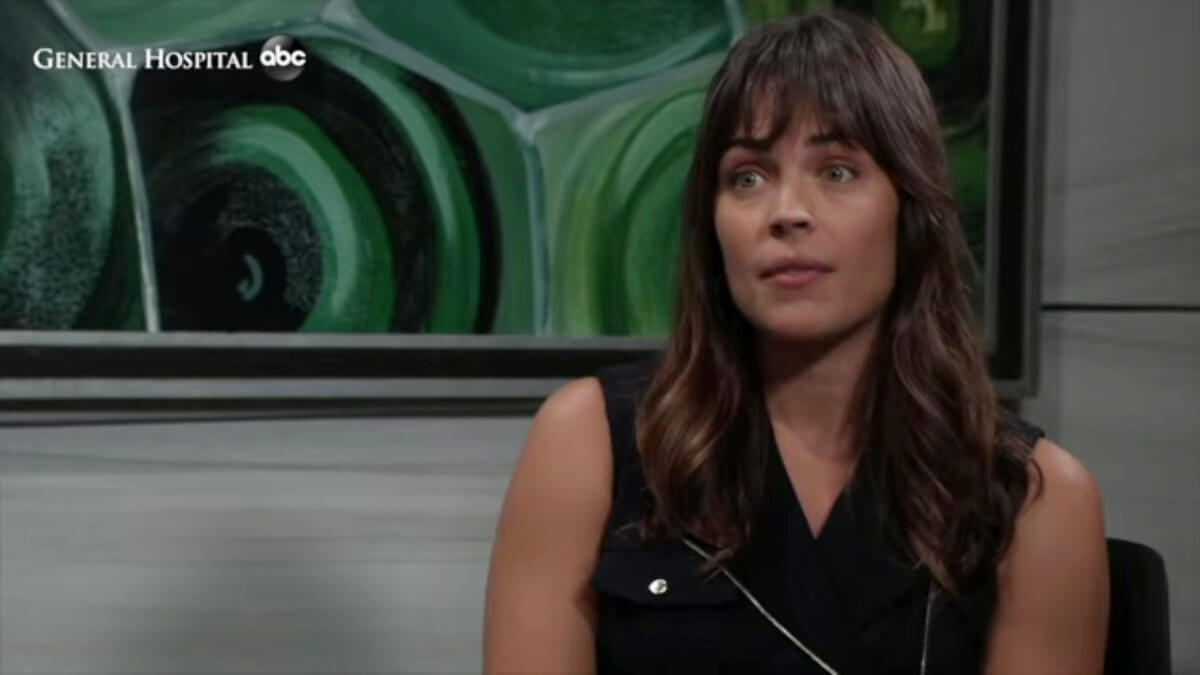 Kelly Thiebaud as Britt on General Hospital.