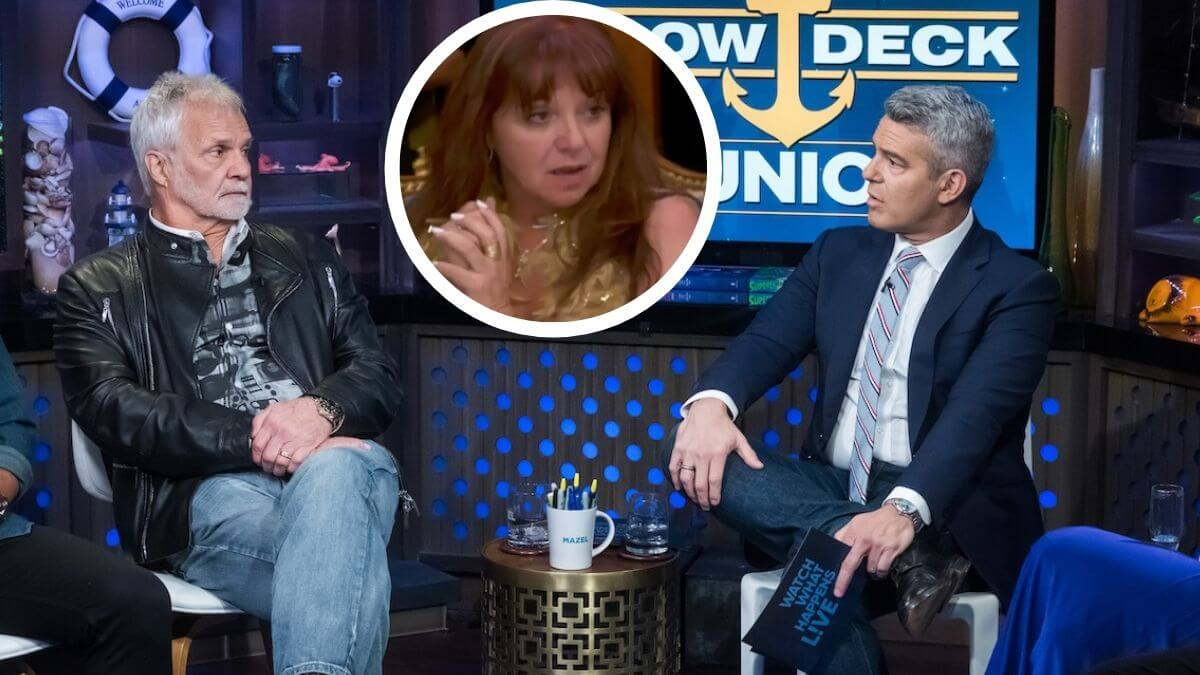Andy Cohen shocked a Below Deck's Captain Lee's remark about drunk Delores.