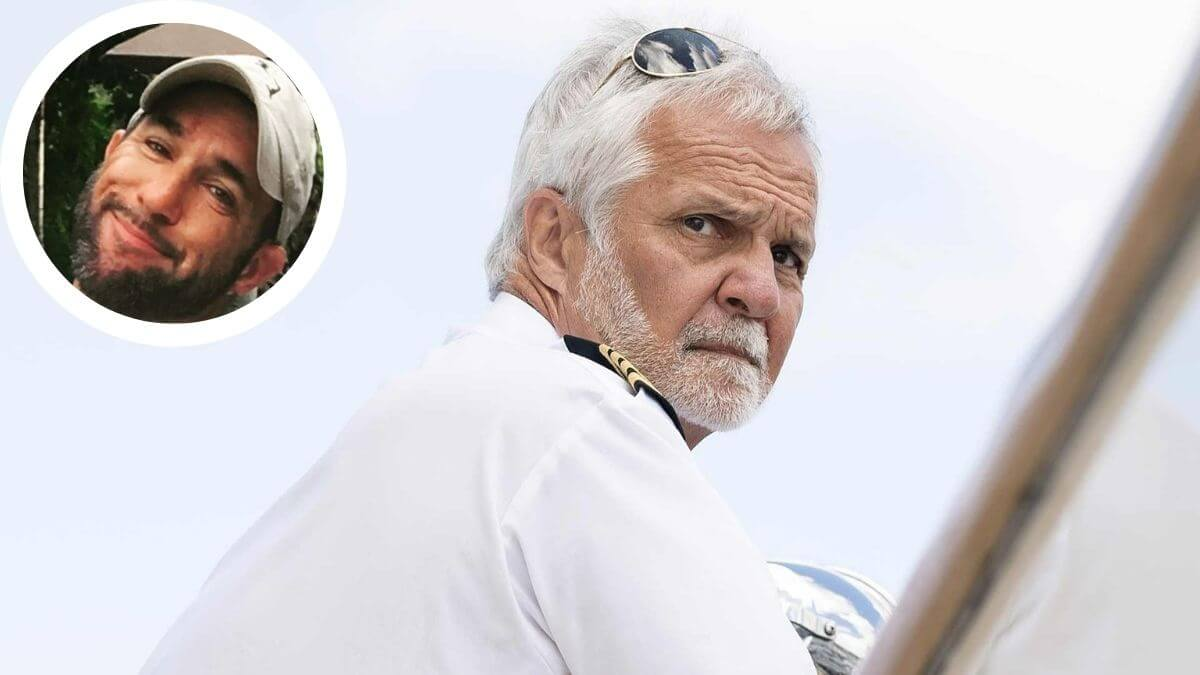 Below Deck's captain Lee shared insight into life without his son Joshua.