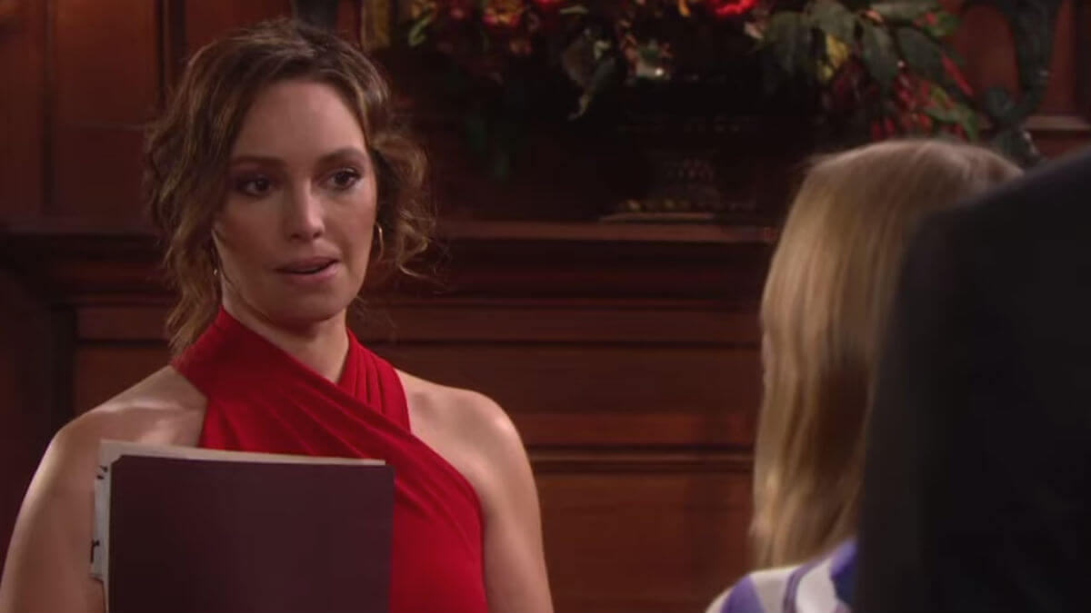 Days of our Lives spoilers tease Abigail plays right into Gwen's hands.