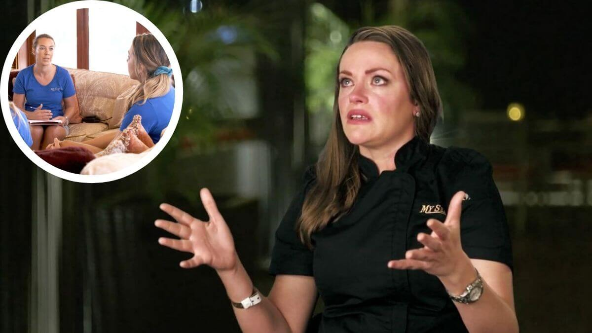 Below Deck's chef Rachel Hargrove blasts Francesca Rubi over Elizabeth Frankini drama.